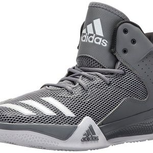 NEW ADIDAS PERFORMANCE DT MID GREY/WHITE MEN'S 14